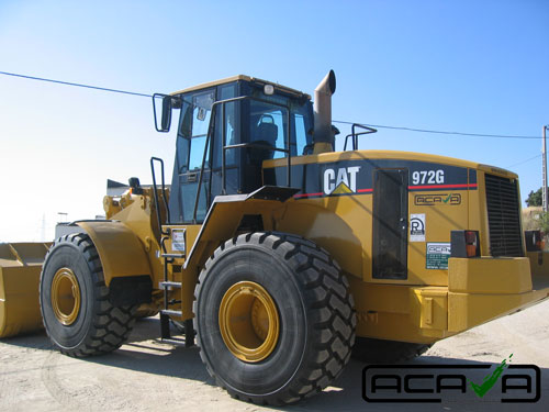 Nueva entrada al stock de CAT 972G
